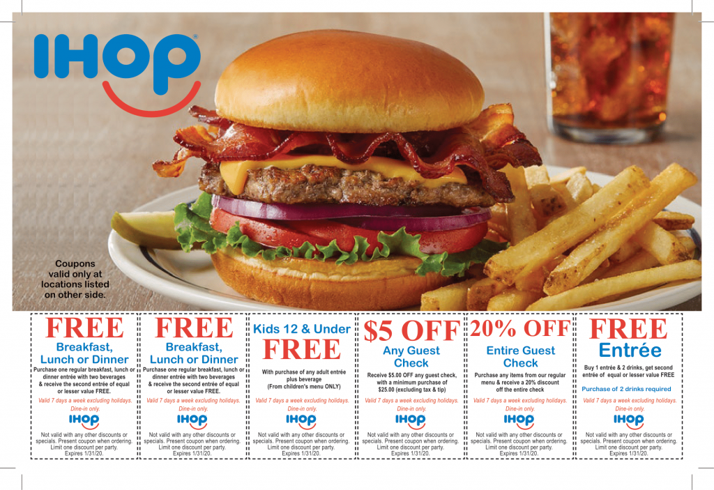 ihop direct mail postcard by san jose direct mail advertising